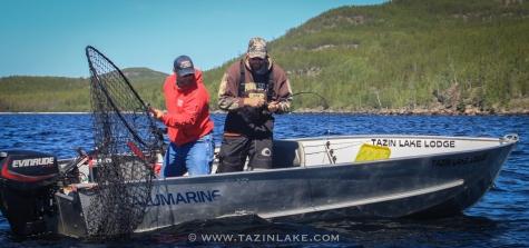 7518 - bret catch trout trevor net jamie pic