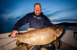 TLL - Scott - 60lb lake trout